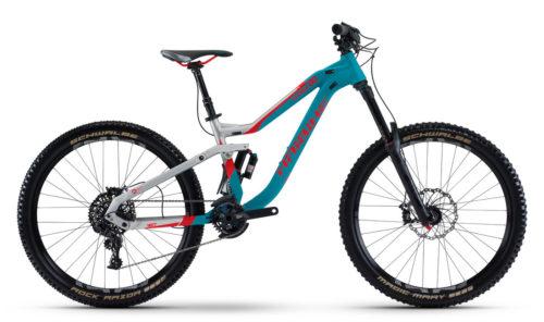 Горный велосипед - двухподвес