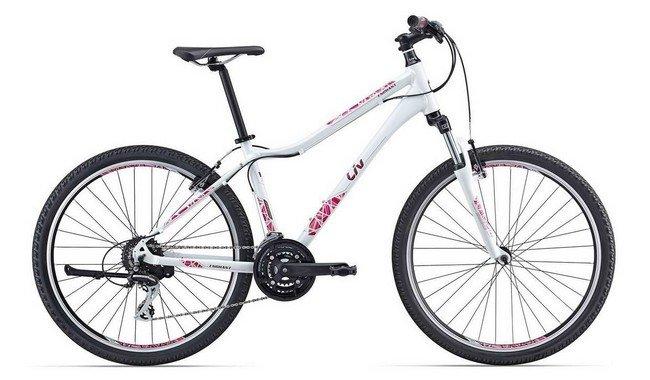Велосипед с женской рамой
