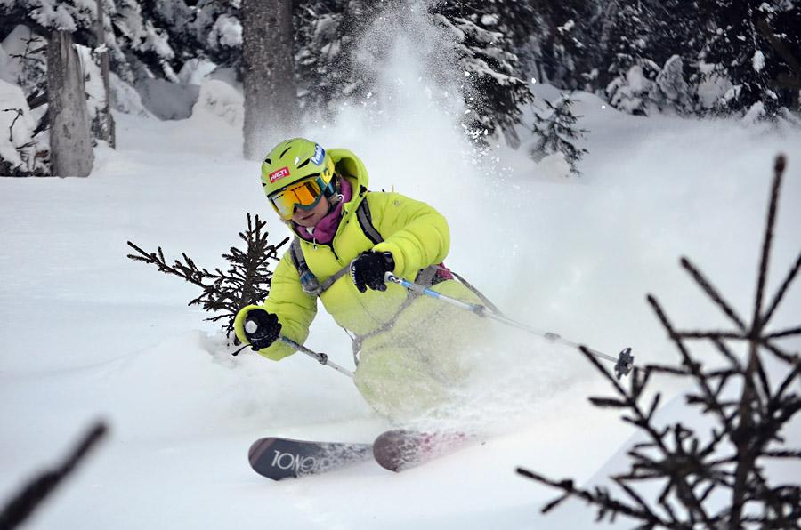 Фрирайд на горных лыжах
