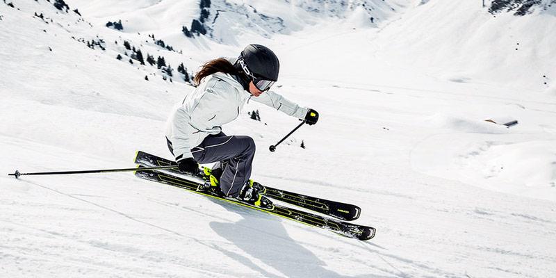 Универсальные горные лыжи
