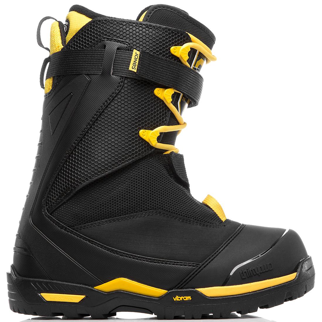 Сноубордический ботинок с большим наклоном