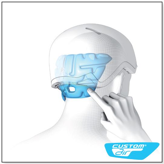 Custom Air в шлеме