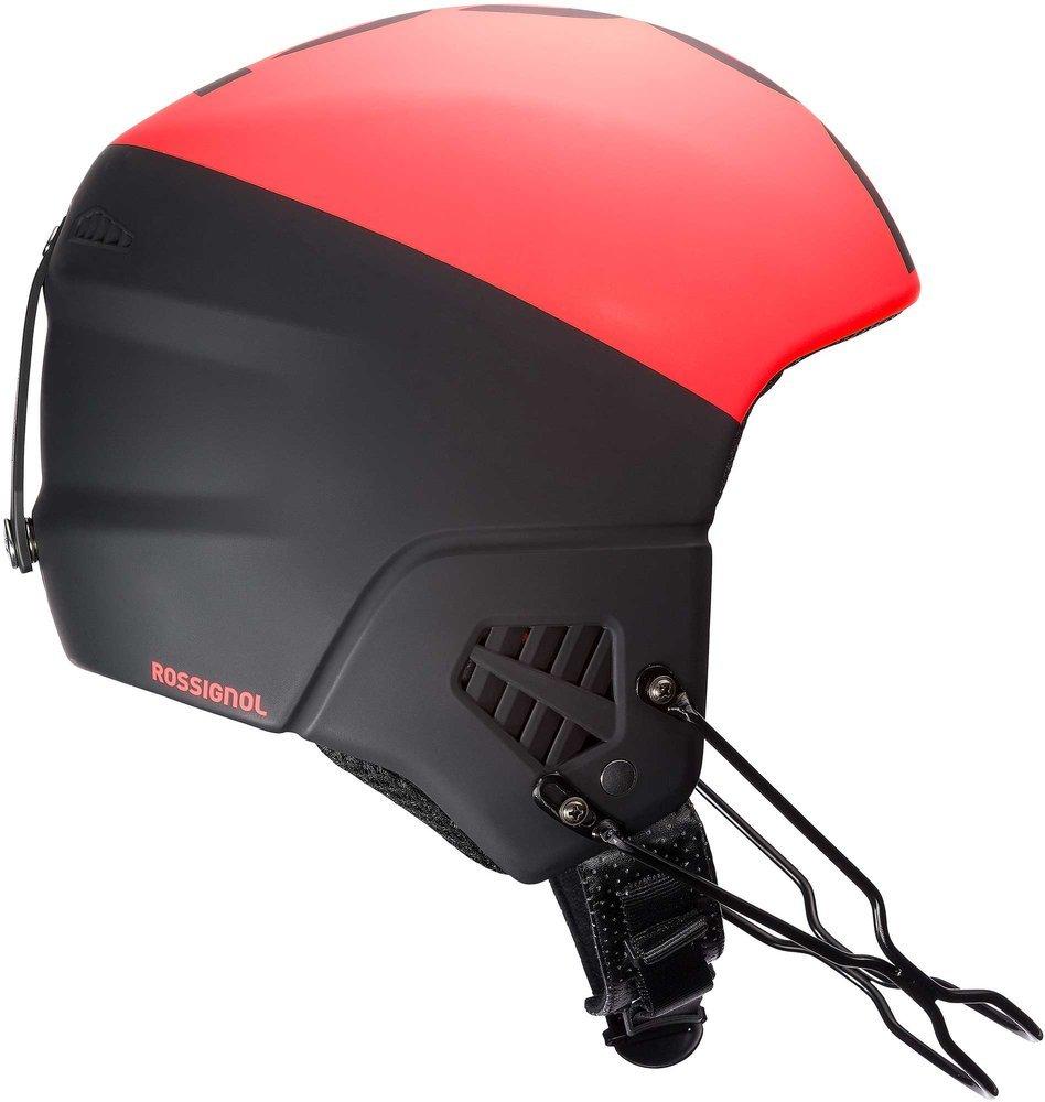 Шлем Rossignol с жесткими ушами и защитой подбородка