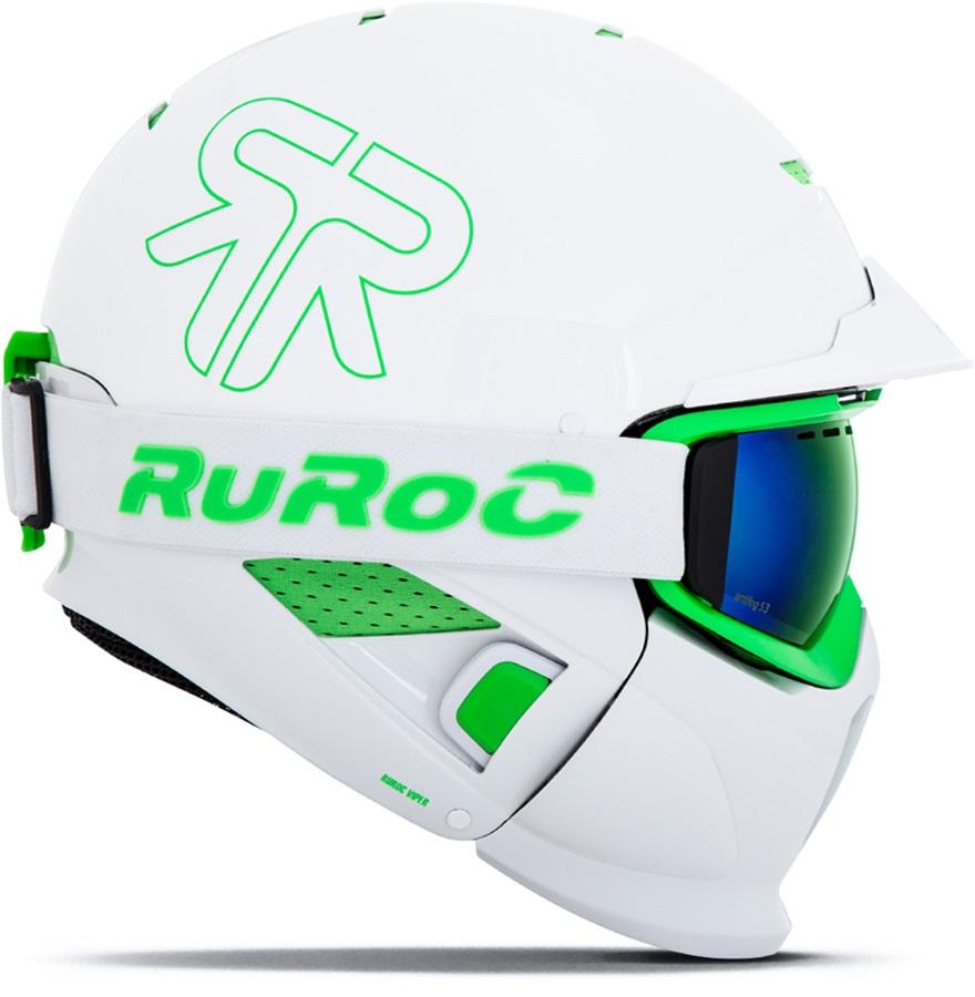 Закрытый full face шлем Ruroc