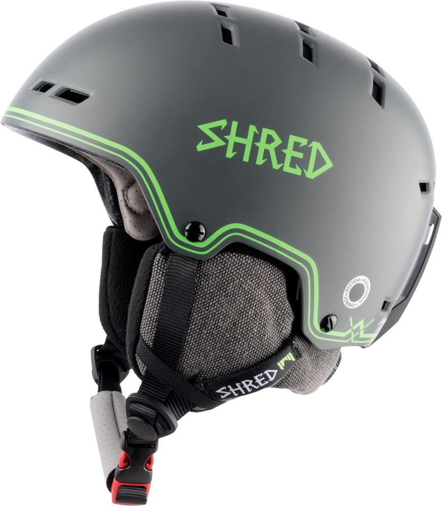 Шлем Shred с мягкими ушами