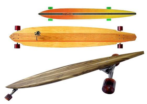 Surf-style лонгборд