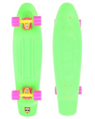 "Скейт мини круизер Юнион 22,5"" Neon Frog"